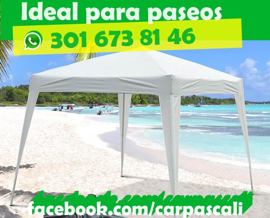 Oferta Carpa Toldo Parasol 3x3 Envío Gratis a Toda Colombia