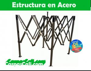 estructura mariposa de carpa plegable