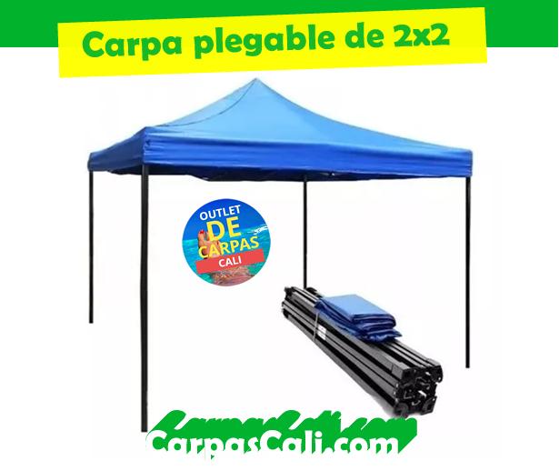 CARPA PLEGABLE DE 2X2 IMPERMEABLE
