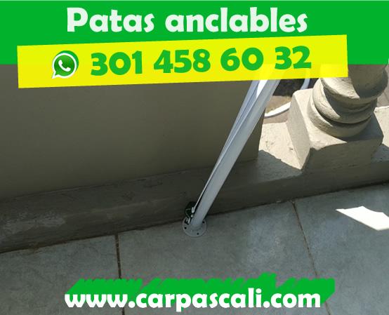 CARPA TOLDO PARASOL DE 3X3 POLIÉSTER VERDE