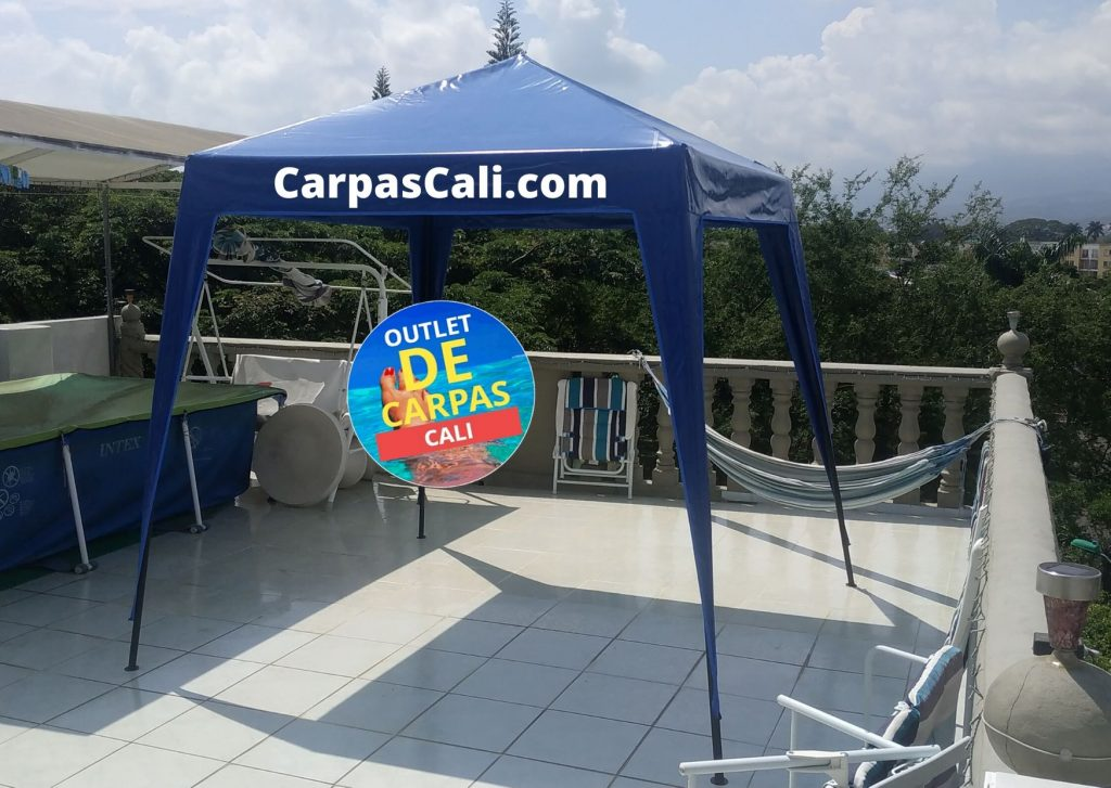Carpa Toldo Parasol Lona España o Super Flex 2×2 Mts