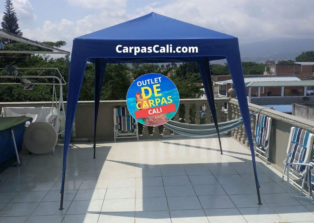 Carpa Toldo Parasol Lona Verano PVC 2×2 Mts