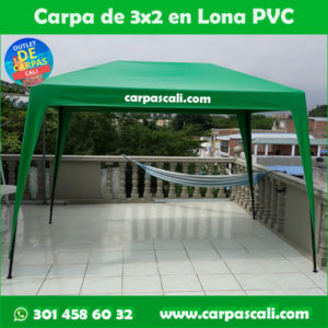 Carpa Toldo Parasol Lona España o Super Flex 3×2 Mts