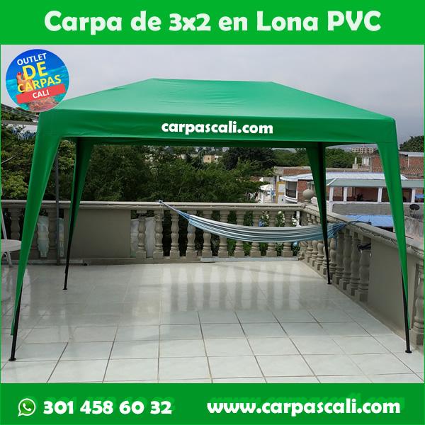 Carpa Toldo Parasol de 3×2 Metros para Negocios de Comidas o Puestos de Ventas
