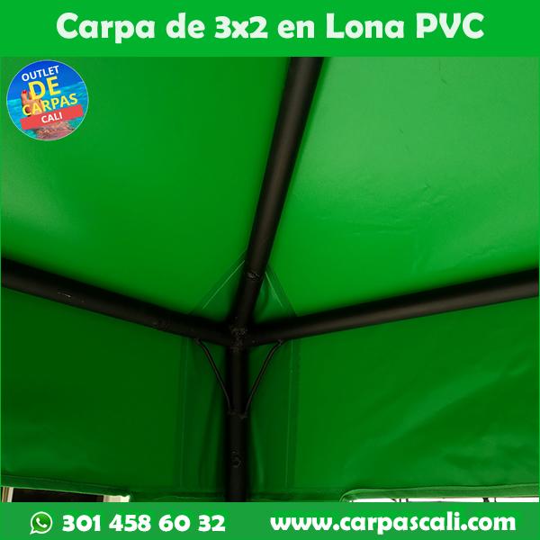 Carpa Toldo Parasol Lona España o Super Flex 3x2 Mts
