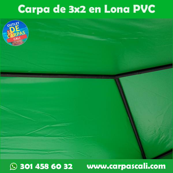 Carpas 3x2 Lona Verano Verde
