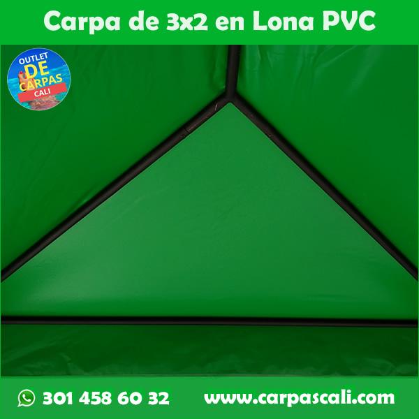 Carpas Resistentes Impermeables 3x2 Verde