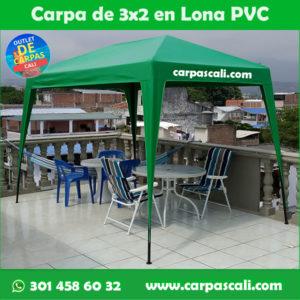 Carpa Toldo Parasol Lona Verano PVC 3x2 Mts