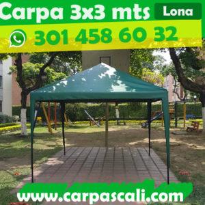 Carpa Toldo Parasol Lona España o Super Flex 3×3 Mts