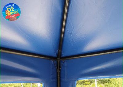 Carpa Toldo Parasol Lona Verano PVC 3x3 Mts