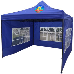 Carpa Plegable 3x3 Con Paredes Laterales
