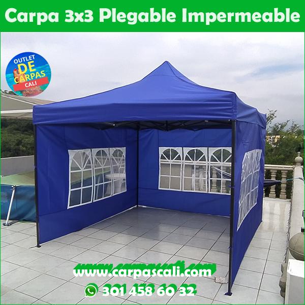 Carpas 3x3 Azul