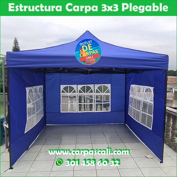 Carpa 3x3 Facil Armado