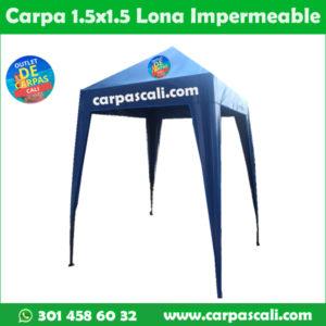 Carpa Toldo Parasol Lona Verano PVC 1.5×1.5 Mts