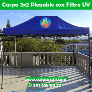 Carpa Plegable 3x2 Con Filtro UV