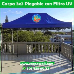 Carpa Plegable 3×2 Con Filtro UV