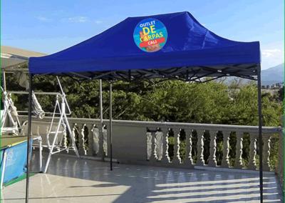 Carpa Plegable 3x2 Con Filtro UV