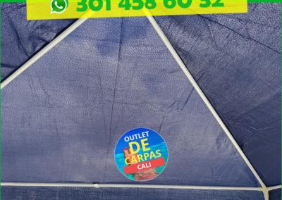 Carpa Toldo Parasol Poliéster 3x3 Mts