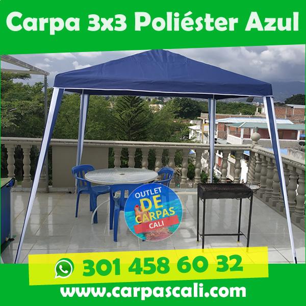 Carpa Toldo Parasol Poliéster 3×3 Mts