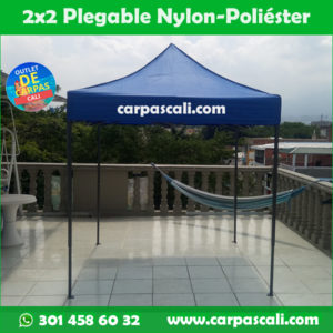 Carpa Plegable 2x2 Con Filtro UV