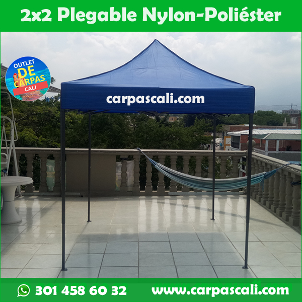 Carpa Plegable 2×2 Con Filtro UV