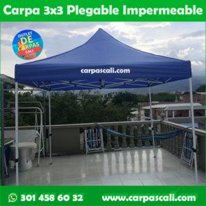 Carpa Plegable 3×3 Herraje Blanco