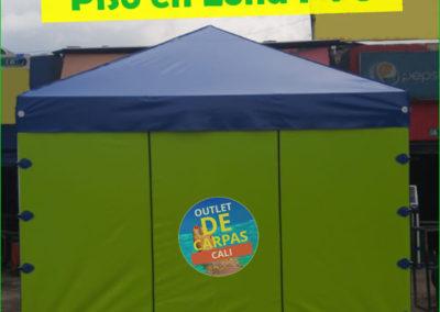 Carpa Toldo Parasol Lona Verano PVC 4x3 Mts