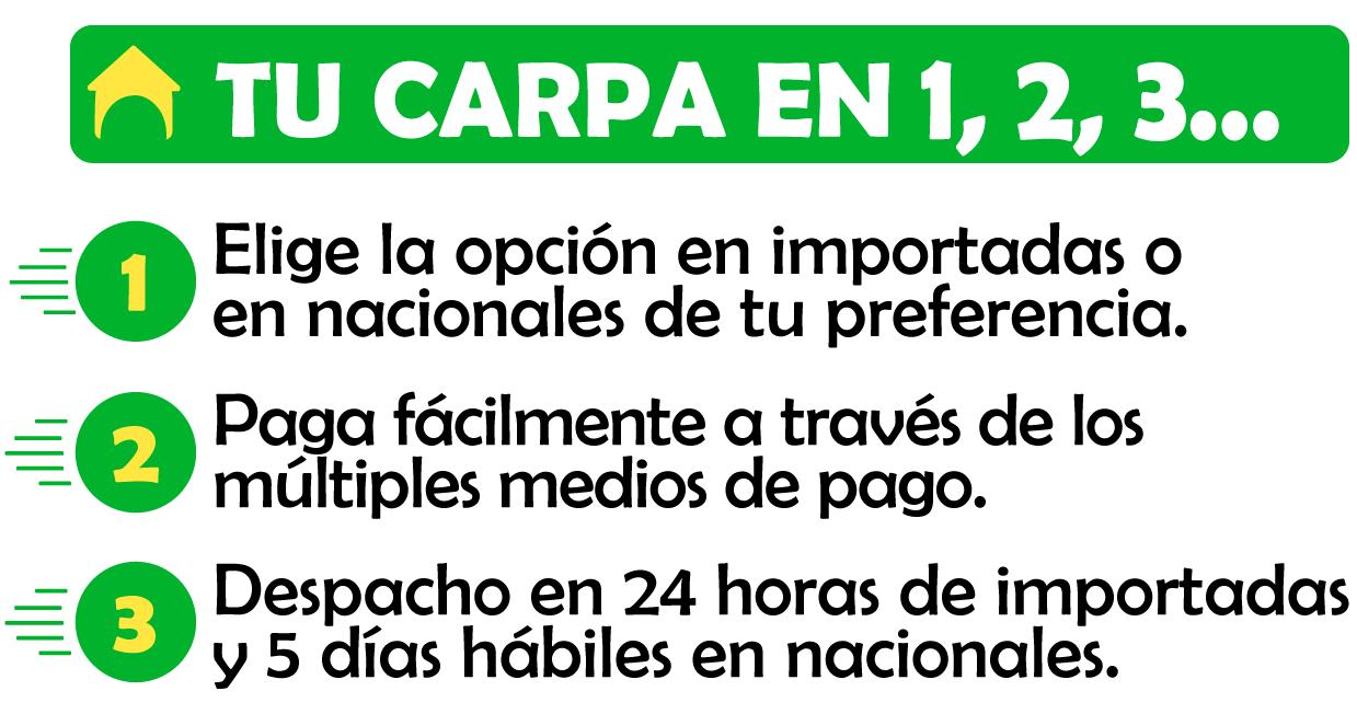Venta de Carpas Livianas, Plegables y Pesadas. De Cali para Toda Colombia!