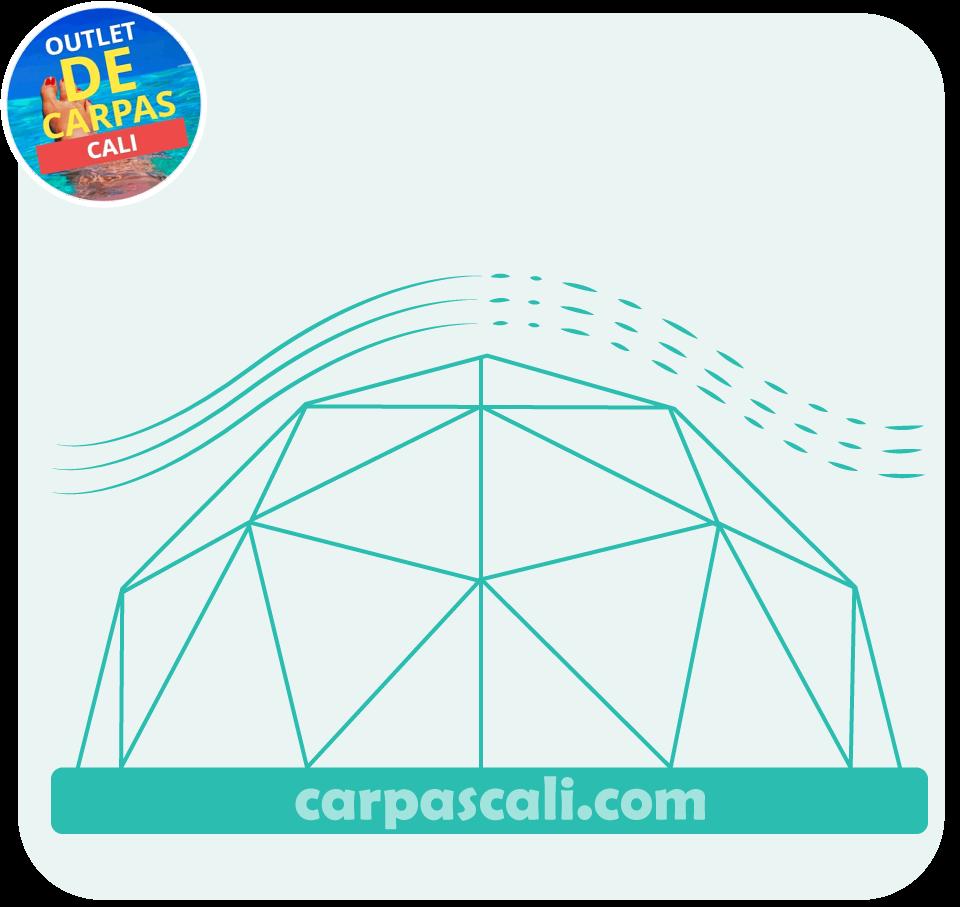 Domos geodesicos para glamping