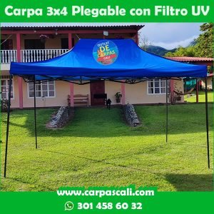 Carpa Plegable 3×4 Con Filtro UV